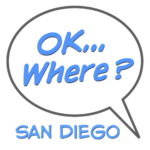 Speech Bubble Single Logo San Diego